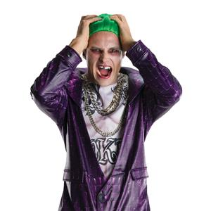 Rubies Costume Co Suicide Squad The Joker Clown Shiny Silver Detail Teeth Grill