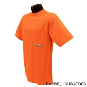 Radians -4X Polyester Mesh Non-Rated Short Sleeve Safety T-Shirt -A