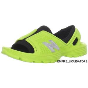 Brand New - New Balance Kid's Quest Sandal in Lime SIze 4 M US Big Kid -A