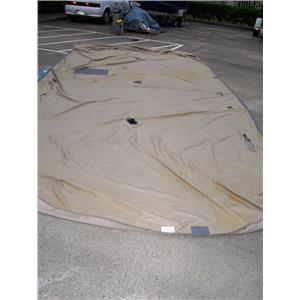 Boaters Resale Shop of TX 1703 4107.24 DUFORT PLAYPEN BOAT COVER 11' W x 24' L