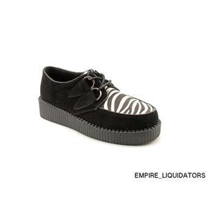 BRAND NEW - Mia Amarylis Women US 8 Black Sneakers - BLACK/WHITE/ZEBRA -A