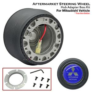 Steering Wheel Hub Adapter Boss Kit For Mitsubishi Lancer Evolution EVO 1 2 3