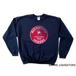NCAA Richmond Spiders 50/50 Blended 8OZ Vintage Circle Crewneck Sweatshirt -A