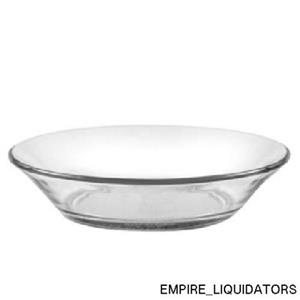 """Set of 6 factory sealed Duralex Clear 5.7"""" Cocktail Plates -A"""