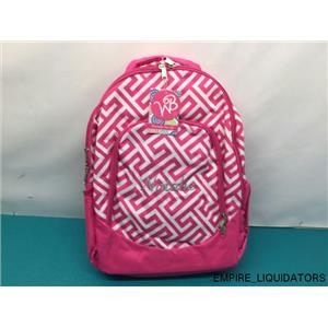 BRAND NEW ABABY Personalized Bookbag in MULTI - COLOR - NATALIE w/ Tags -A