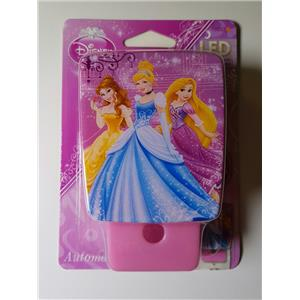 NEW 0Disney Princess Automatic LED Night Light