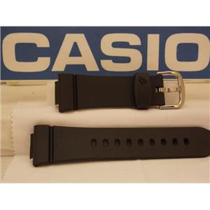 Casio Watch Band BG-6903, BGD-140 Baby-G Black Resin Watchband. Strap