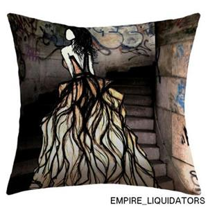 "UNUSED - DENY Designs 16"" X 16"" Amy Smith Escape Outdoor Throw Pillow -A"