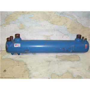 "Boaters' Resale Shop of TX 1702 1474.17 SEAKAMP LARGE HEAT EXCHANGER 4"" x 26"""