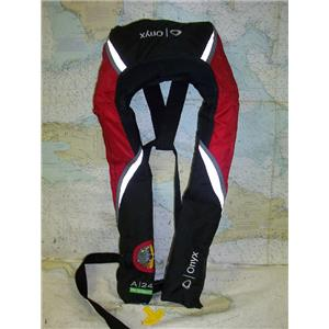 Boaters' Resale Shop of TX 1702 2155.04 ONYX MODEL 3042A ADULT INFLATABLE PFD