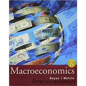SEALED Macroeconomics W/ Student Support Package Plus Study Guide 6th Edition -A