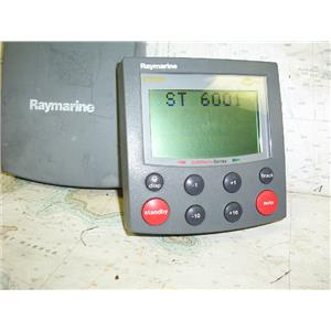Boaters' Resale Shop of TX 1703 1422.04 RAYMARINE ST6001 AUTOPILOT DISPLAY ONLY