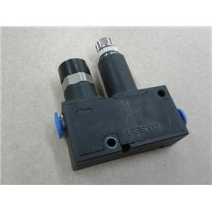 Festo LRMA-QS-6 Pressure And Differential Pressure Regulators