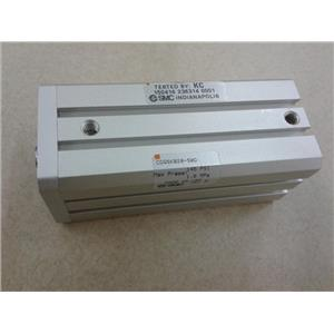 Smc CDQSKB20-50D Compact, Non Rot, Auto-Sw, Cqs Compact Cylinder