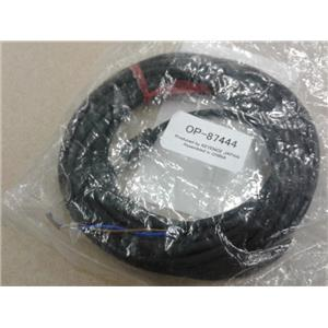 Keyence OP-87444 Monitor Power Cable 4 Pole Female Straight 5 Meters