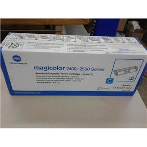 Konica Minolta 1710587-003 Magicolor 2400/2500 Series Standard-Capacity Toner C