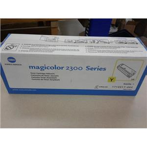 Konica Minolta 1710517-002 Magicolor 2300 Series Toner Cartridge Yellow