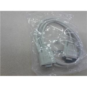 Null Modem Cables NM09FF6FT Hmi Display Cable, 9Pin, 6Ft, New