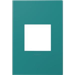 Legrand AWP1G2TB4 adorne Turquoise Blue 1-Gang Wall Plate P/N 362835