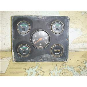 Boaters Resale Shop of TX 1703 2742.12 VOLVO PENTA ENGINE GAUGE PANEL
