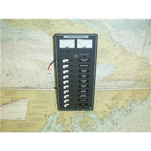 Boaters' Resale Shop of TX 1703 2742.11 BLUE SEA SYSTEMS # 8082 DC BREAKER PANEL