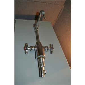 "Watersaver Faucet Rigid/Swing Gooseneck Laboratory Faucet, 2 GPM, 3/8"" NPT 3CWK2"