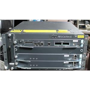 Cisco Wireless LAN Controller WISM2 300AP Redundant Set in WS-C6504-E