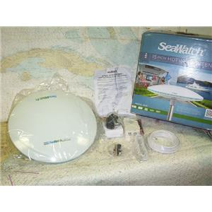 """Boaters' Resale Shop of TX 1703 0725.14 SEAWATCH 3015 MARINE HDTV/FM 15"""" ANTENNA"""
