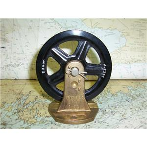 Boaters' Resale Shop of TX 1703 1777.15 EDSON B-328 BRACKET & A-2391 PULLEY