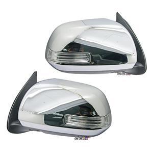 1 Pair Electric Adjust Door Side Mirror For Toyota Hilux VIGO 2005-10 5 Pin