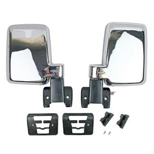 1 Pair Large Door Side Mirror For Toyota Land Cruiser 60 Series FJ60 BJ60 HJ60