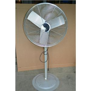 "TPI CORP IHP 30-H NON-OSCILLATING CIRCULATING FAN WITH STAND, 30"", 120V 7000 CFM"