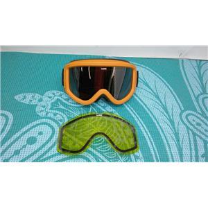 NEW Saber Acid Rider Goggles in Orange w/ Carry Bag