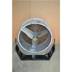 "Airmaster DD3041 Fan, 30"" with Wall Mount, 3 Speed"