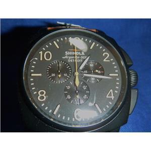 Men's Shinola The Runwell Contrast Chrono  Argonite 5030 Watch Built in Detroit