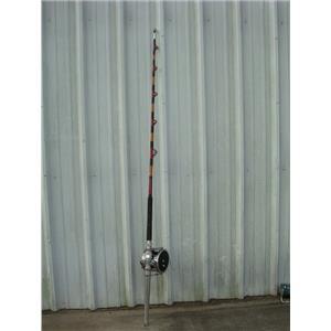 """Boaters' Resale Shop of TX 1705 0447.02 PENN SENATOR14/0 REEL ON 7'2"""" ROD"""