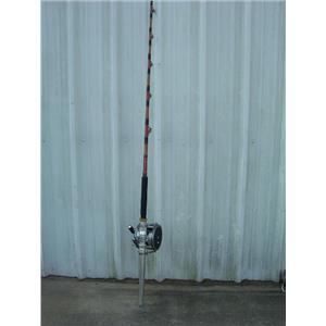"""Boaters' Resale Shop of TX 1705 0447.01 PENN SENATOR14/0 REEL ON 7'3"""" IGFA ROD"""