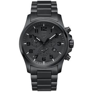 Luminox Watch 1942.BOB.Black Out. All Black Steel Chronograph w/Sapphire Crystal