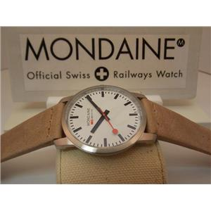 Mondaine Watch A638.30350.16SGB.Swiss Movement,Sapphire Crystal,Easy Reader