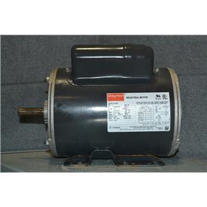 Dayton 6K418BC, 1 HP Motor, 1725 RPM, 115/208-230V, 1Ph, Frame 56H