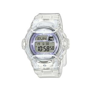Casio Watch BG169R -7, BG-169 Clear Baby G. New Boxed w/ Warranty/Instructions