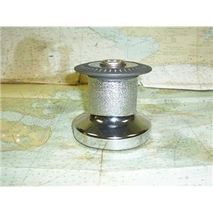 Boaters' Resale Shop of TX 1705 4105.45 LEWMAR 8 CHROME PLATED BRONZE WINCH