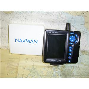 Boaters' Resale Shop of TX 1705 4105.02 NAVMAN TRACKER 5500 DISPLAY W/ ANTENNA