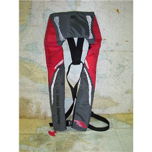 Boaters' Resale Shop of TX 1702 2155.02 WEST MARINE A/M-24 ADULT INFLATABLE PFD