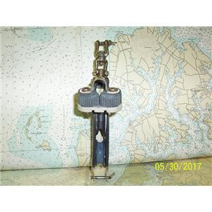 """Boaters' Resale Shop of TX 1705 1172.21 HARKEN 3"""" FIDDLE BLOCK W/ BECKET & CLEAT"""