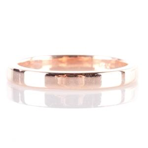 Traditional 14k Rose Gold Wedding Anniversary Band / Ring Size 4.5