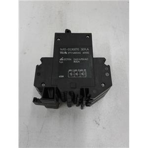 Allen Bradley 1492-GS3G070 Miniature Circuit Breaker, 3-pole