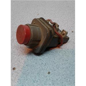 Allen Bradley B6A Red Pushbutton Switch