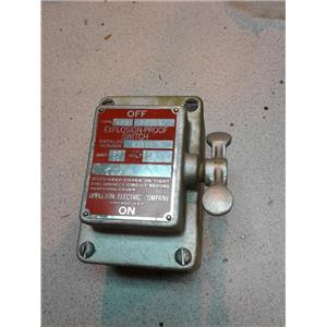Appleton Electric 51311 Explosion-Proof Switch
