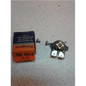Westinghouse 966 465-H Overload Relay